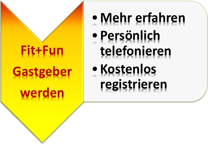 Fit+Fun Gastgeber