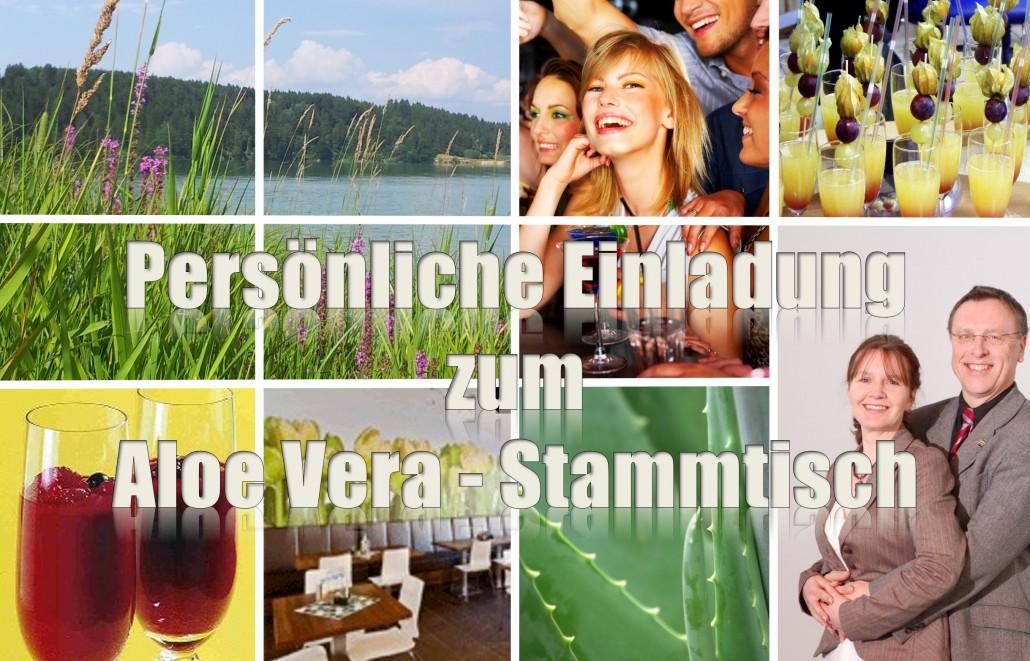 Aloe Vera Stammtisch