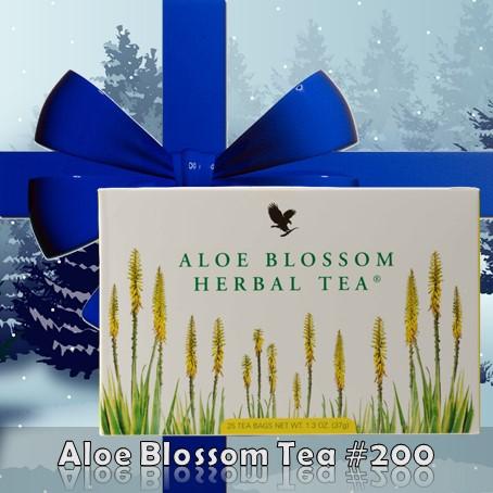 aloe blüten tee weihnachten geschenk