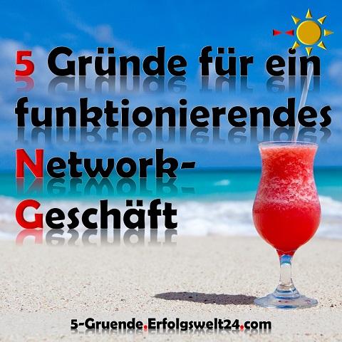 5 Gründe Network Marketing