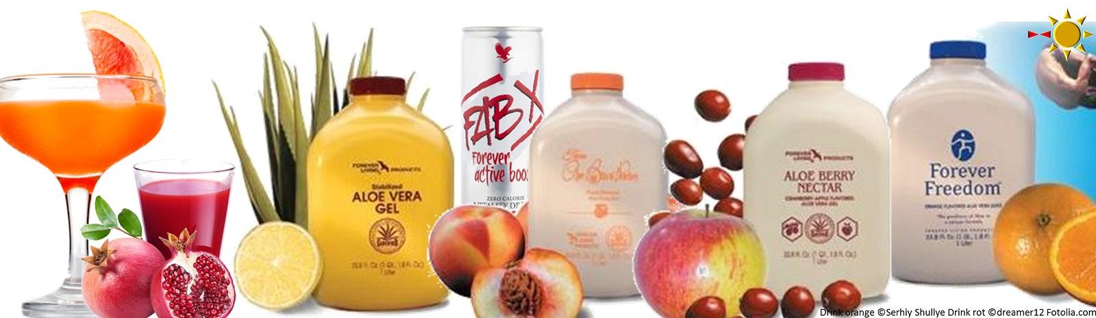 Aloe Veras Forever Drinks