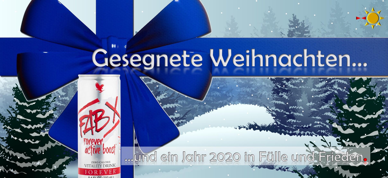 Weihnachtskarte FABx